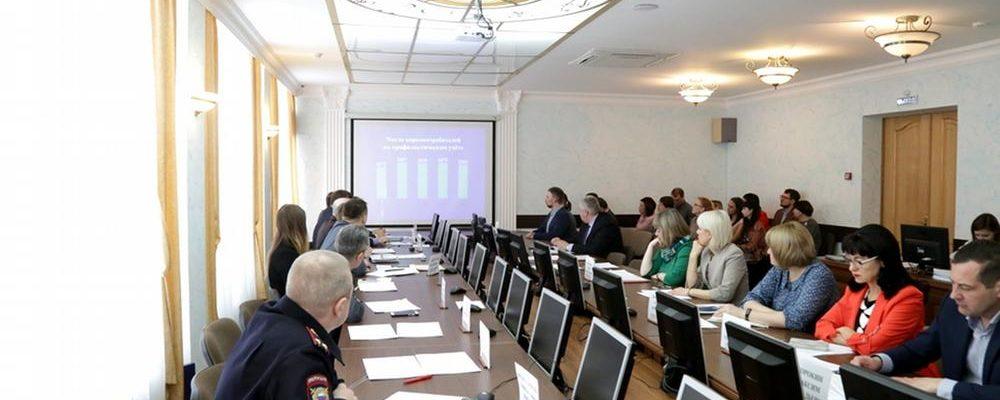 Сотрудники Социального отдела приняли участие в заседании городской Антинаркотической комиссии
